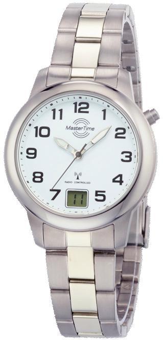MASTER TIME Funkuhr »MTLT-10654-41M« | Uhren | MASTER TIME
