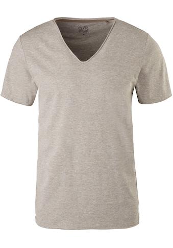 Q/S designed by V-Shirt, unifarben kaufen