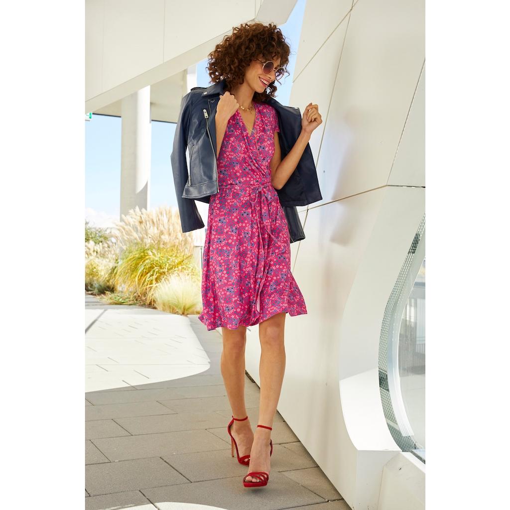 Aniston SELECTED Sommerkleid, in Knallfarbe