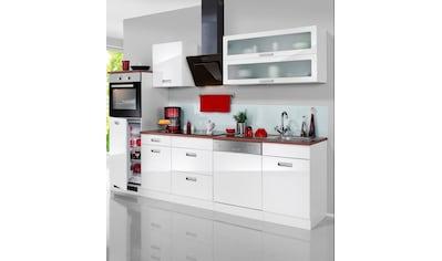 HELD MÖBEL Küchenzeile »Fulda«, mit E-Geräten, Breite 280 cm kaufen