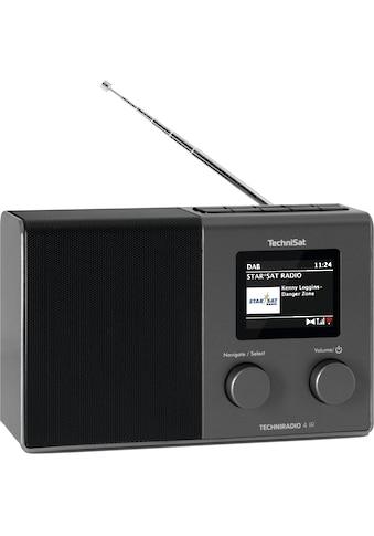 TechniSat Internet-Radio »TECHNIRADIO 4 IR kompaktes«, (WLAN Internetradio-UKW mit... kaufen