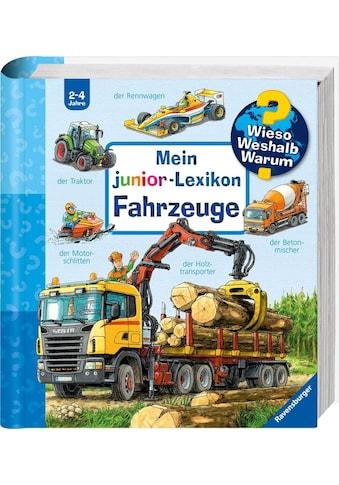 """Ravensburger Buch """"Mein junior - Lexikon: Fahrzeuge  -  Wieso? Weshalb? Warum?"""" kaufen"""