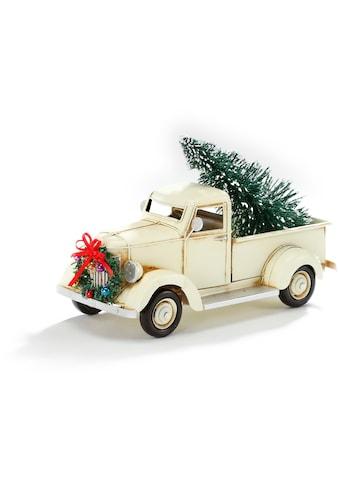 CHRISTMAS GOODS by Inge Dekoobjekt »Weihnachtsauto« (1 Stück) kaufen