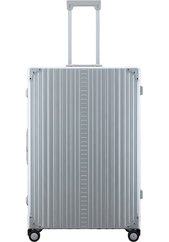 ALEON Hartschalen-Trolley »Aluminiumkoffer Macro Plus Traveler, 81 cm«, 4 Rollen, inkl. Schutzhülle kaufen