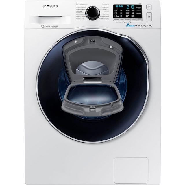 Samsung Waschtrockner AddWash WD5500 WD8EK5A00OW/EG, 8 kg / 4,5 kg, 1400 U/Min