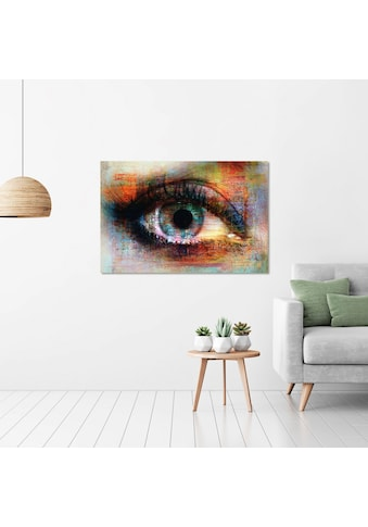 Art & Pleasure Acrylglasbild »The eye«, Fantasy kaufen