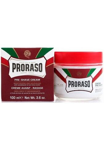 PRORASO Rasiercreme »Preshave Cream Red«, Rasurvorbereitung kaufen