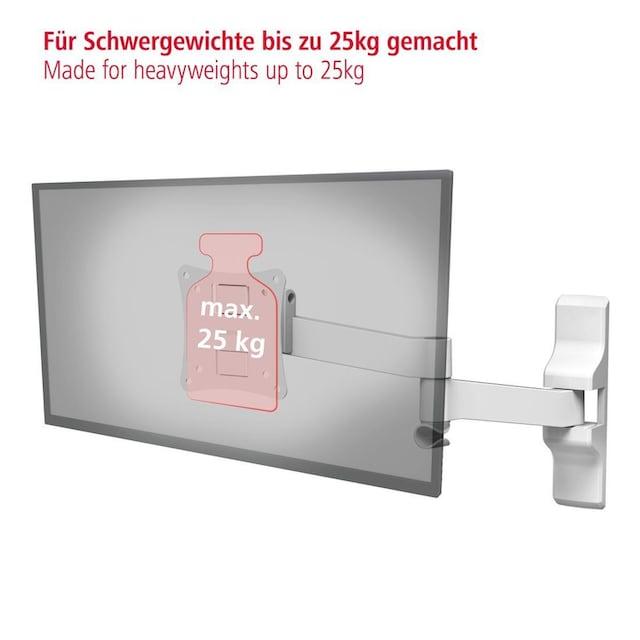 Hama TV-Wandhalterung FULLMOTION Ultraslim, 5 Sterne, 66cm (26) »weiß«