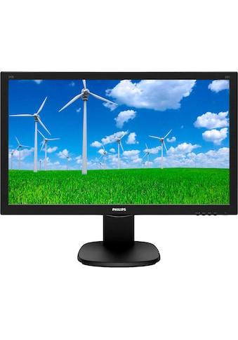 "Philips LCD-Monitor »243S5LHMB«, 59,9 cm/23,6 "", 1920 x 1080 px, Full HD, 1 ms Reaktionszeit, 60 Hz kaufen"