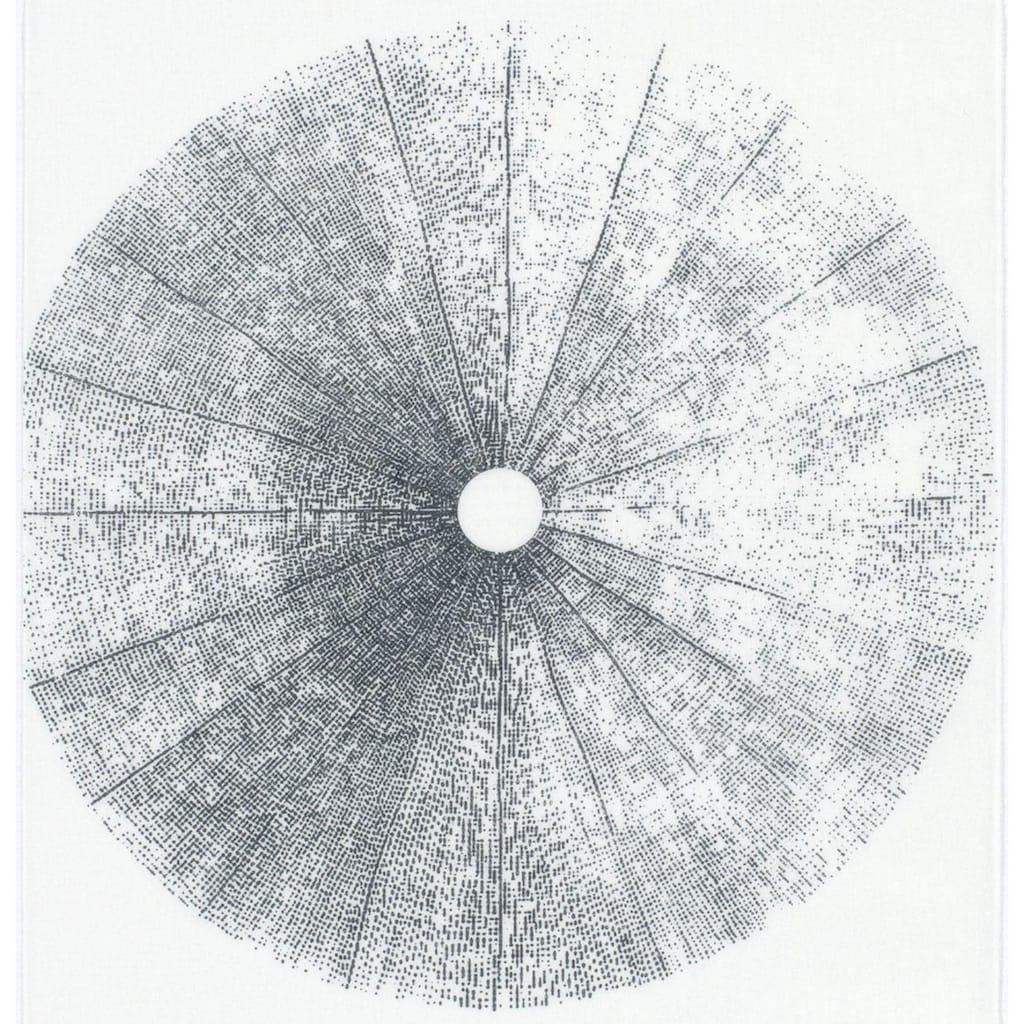 Schiebegardine, »Flächenvorhang Stoff Tree«, GARDINIA, Klettband 1 Stück
