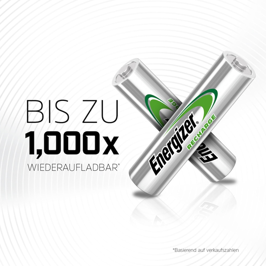 Energizer Akku »NiMH Universal, Micro (AAA), 500 mAh, vorgeladen 4 Stück«, Micro, AAA