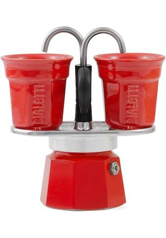 BIALETTI Espressokocher »Mini Express«, (1 Espressokocher Mini Express + 2... kaufen