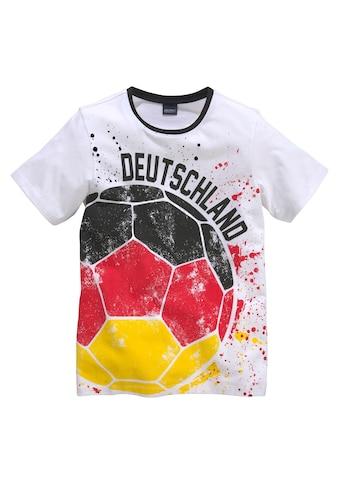 Arizona T-Shirt »Fußball / Deutschland«, mit Druck kaufen