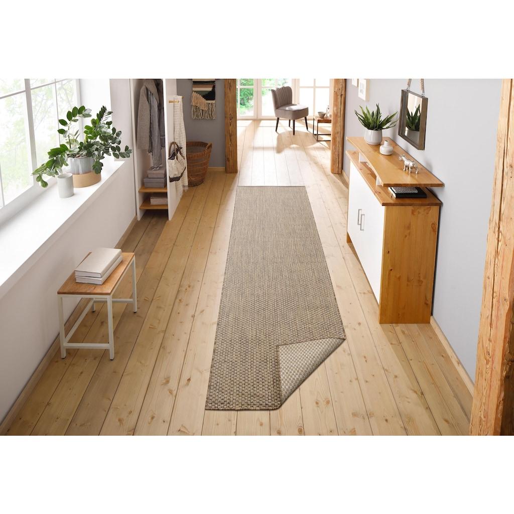 my home Läufer »Rhodos«, rechteckig, 3 mm Höhe, Sisal-Optik, In- und Outdoor geeignet