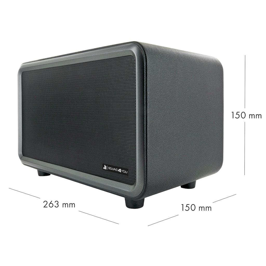 Schwaiger Bluetooth Lautsprecher Retro Design Stereo Speaker TWS