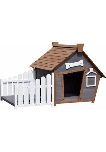 dobar Hundehütte, BxTxH: 146,3x90x96 cm kaufen
