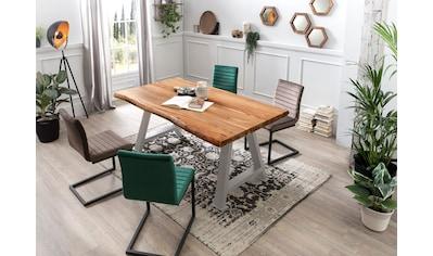 SIT Esstisch »Tops&Tables«, mit Baumkante wie gewachsen kaufen