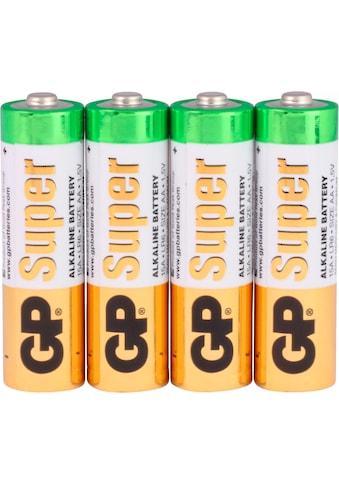 GP Batteries Batterie »Super Alkaline AA«, LR06, 1,5 V, (Set, 4 St.) kaufen