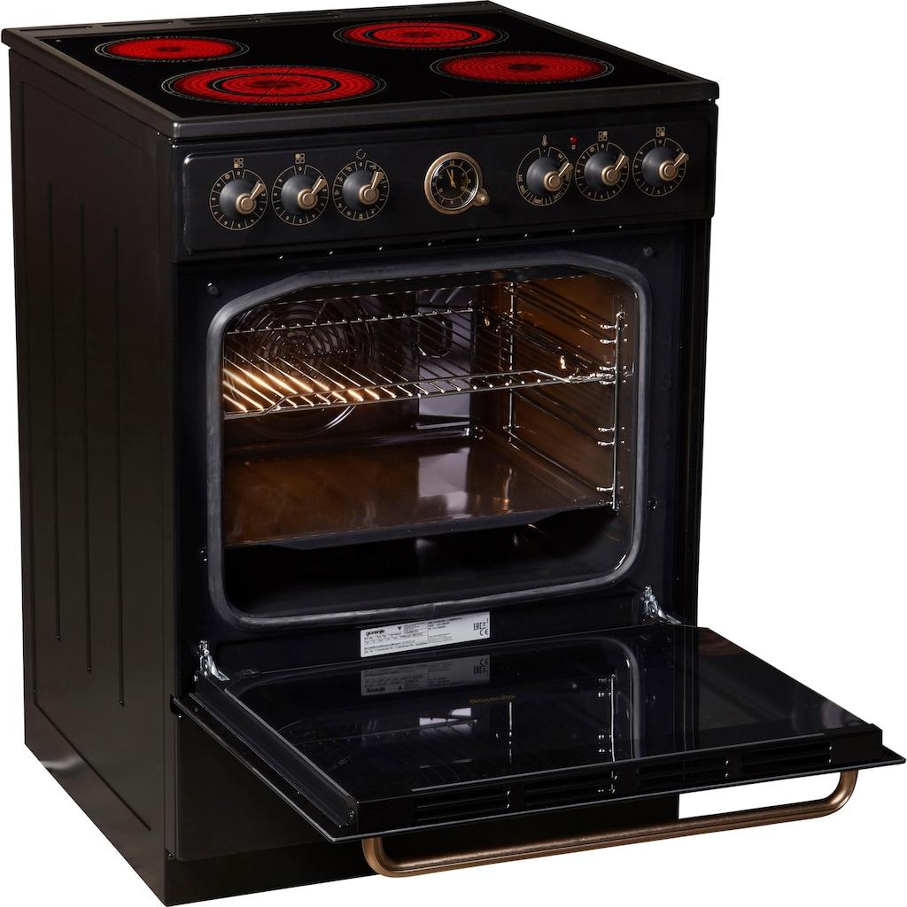 GORENJE Elektro-Standherd »EC 62«, stufenlose Temperaturregelung