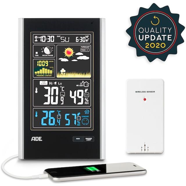 ADE »WS 1600« Funkwetterstation (mit Außensensor)