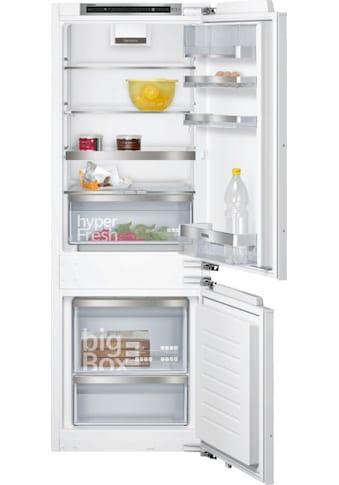 SIEMENS Einbaukühlgefrierkombination »KI77SADD0«, iQ500 kaufen
