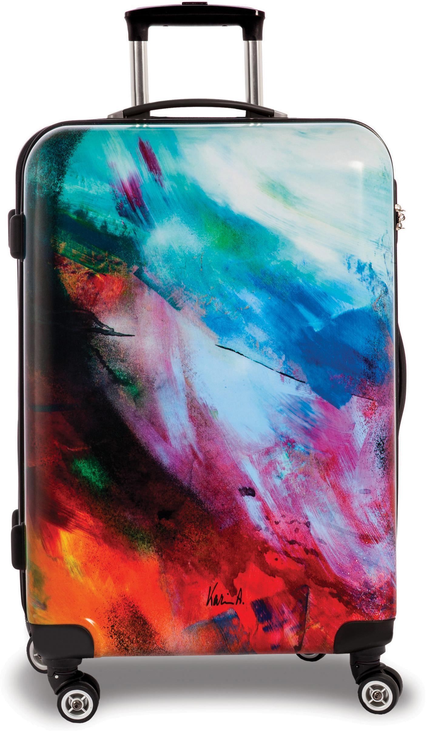 fabrizio® Hartschalen-Trolley Creative style Abstract, 67 cm, Abstract | Taschen > Koffer & Trolleys > Trolleys | Bunt | FABRIZIO