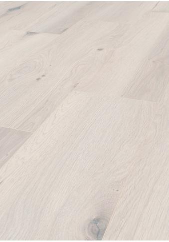 TER HÜRNE Laminat »Eiche alabaster«, mit fühlbarer Oberfläche und Klicksystem kaufen