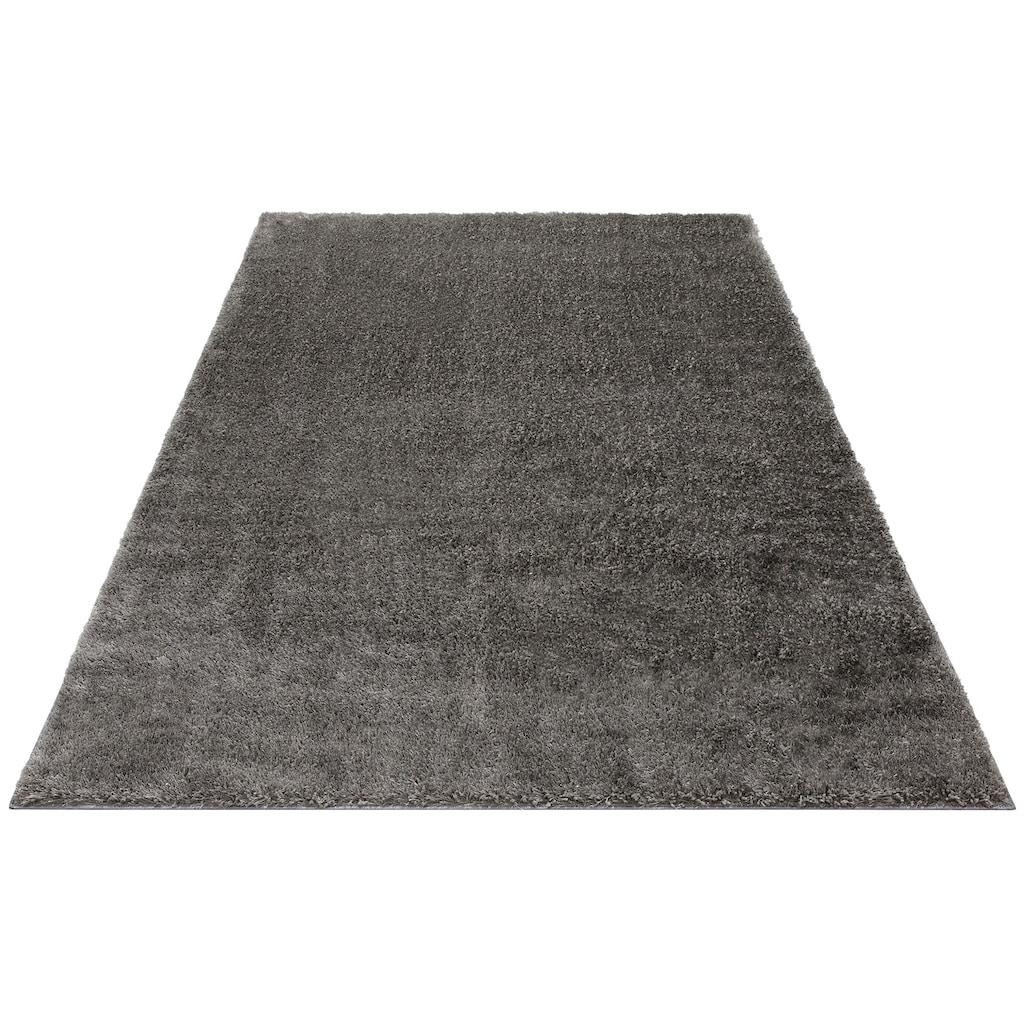 Hochflor-Teppich, »Mikro Soft Ideal«, my home, rechteckig, Höhe 30 mm, maschinell gewebt