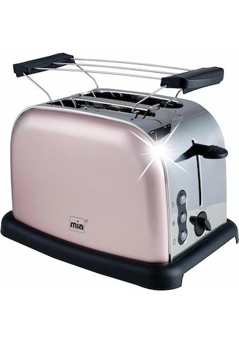 MIA Toaster »TA 4712RG«, 900 Watt kaufen