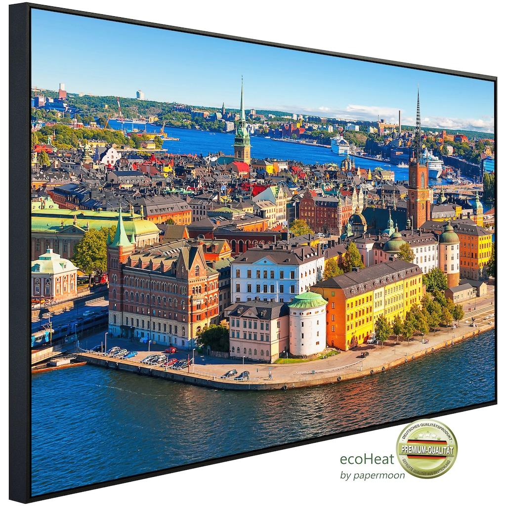 Papermoon Infrarotheizung »Stockholmer Altstadt«, sehr angenehme Strahlungswärme