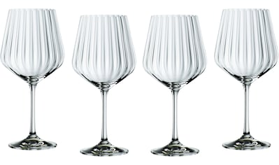 Nachtmann Cocktailglas »Optic«, (Set, 4 tlg.), Gin Tonic, 640 ml kaufen