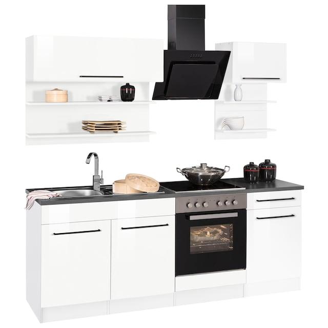 HELD MÖBEL Küchenzeile »Tulsa«, ohne E-Geräte, Breite 210 cm