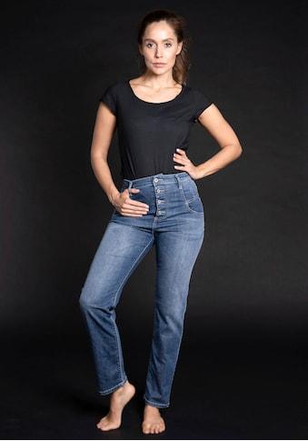 Please Jeans High-waist-Jeans »P 0J5«, Straight-Cut kaufen
