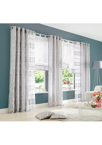 my home Gardine »Camposa«, Vorhang, Fertiggardine, transparent kaufen