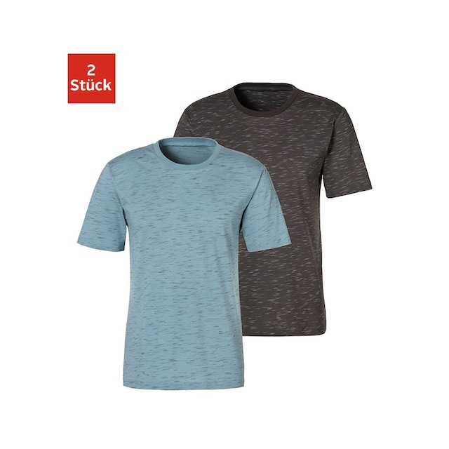 s.Oliver Bodywear T-Shirt (Packung, 2er-Pack)
