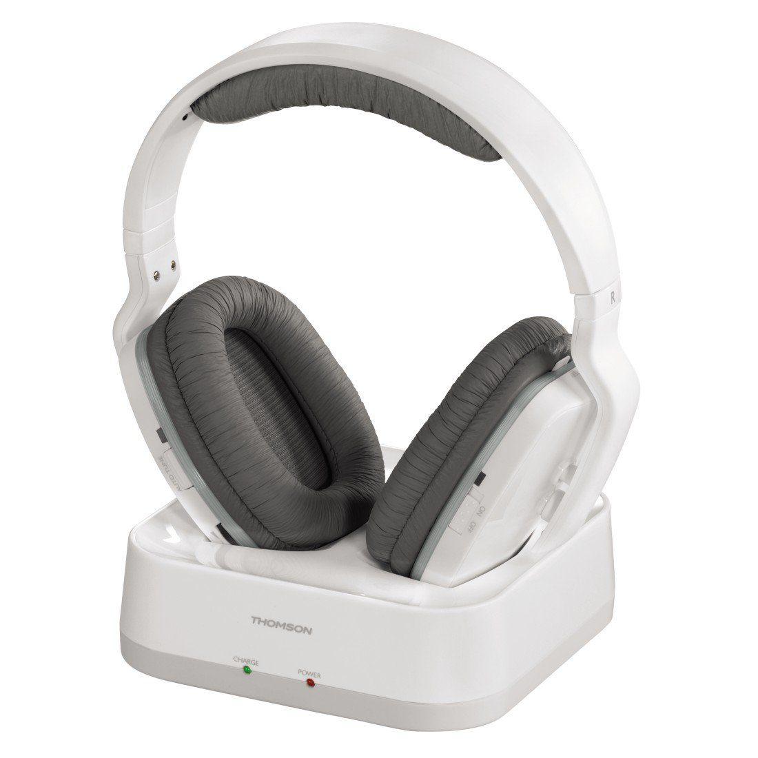 Thomson Kabelloser Funk-Kopfhörer Over-Ear für TV, HiFi, PC »mit Ladestation, WHP3311W«