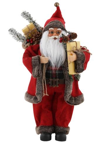 my home Weihnachtsmann, mit Sack und Geschenken, Höhe ca. 45,5 cm kaufen