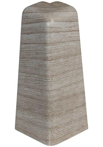 EGGER Außenecke »Eiche mittelgrau«, Außeneck - Element für 6 cm Sockelleiste, 2 Stk kaufen