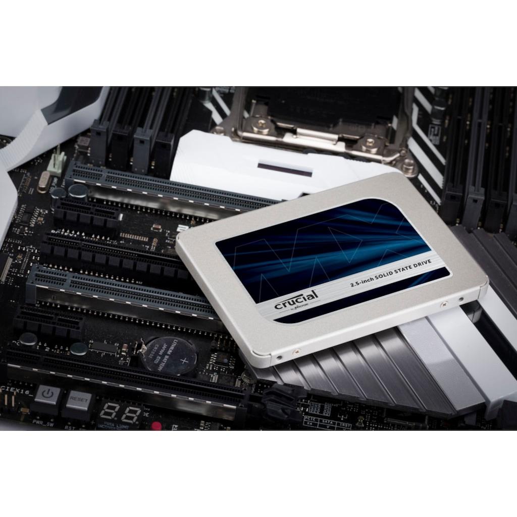"Crucial SSD »Crucial MX500 1TB 3D NAND SATA 2.5"" 7mm (mit 9.5mm Adapter)«, 2,5 """