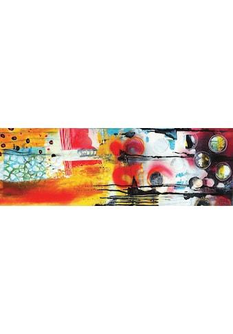 my home Wandbild »Abstract II«, (auf 12 mm MDF Platte, 100/1,2/35 cm) kaufen