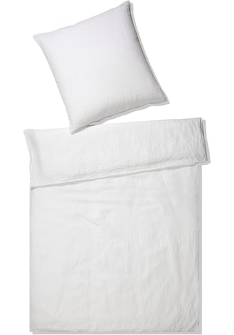 Elegante Bettwäsche »Pure Leinen«, angenehmes Material kaufen