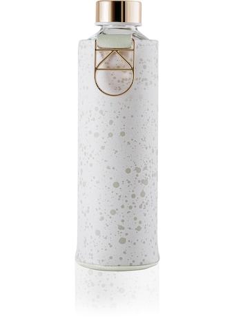 equa Trinkflasche »Mismatch - Essence«, Borosilikatglas, mit Kunstlederhülle und Metallgriff kaufen