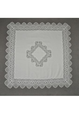 Stickereien Plauen Mitteldecke »Tischdecke Rosenzauber«, Plauener Spitze, Made in Germany kaufen