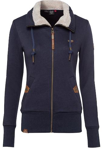 Ragwear Sweatjacke »RYLIE ZIP«, mit kuscheligem Fleece-Einsatz kaufen