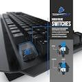 Titanwolf Gaming Tastatur, Maus, Mauspad & Mauskabelhalter Bundle »SYSTEM INVADER Gaming Set«