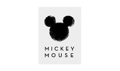 KOMAR XXL Poster »Mickey Mouse Silhouette« kaufen