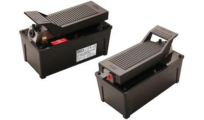 BGS Fußpumpe »Druckluft-Hydraulik-Pumpe«, für alle BGS-Hydraulikwerkzeuge, 689 Bar,... kaufen
