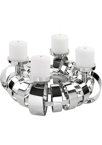 Fink Kerzenhalter »ANELLO«, 4-flammig, Adventsleuchter kaufen