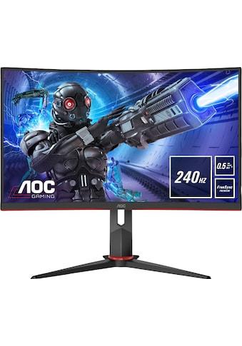 """AOC Curved-Gaming-LED-Monitor »C27G2ZU/BK«, 68,6 cm/27 """", 1920 x 1080 px, Full HD, 0,5... kaufen"""