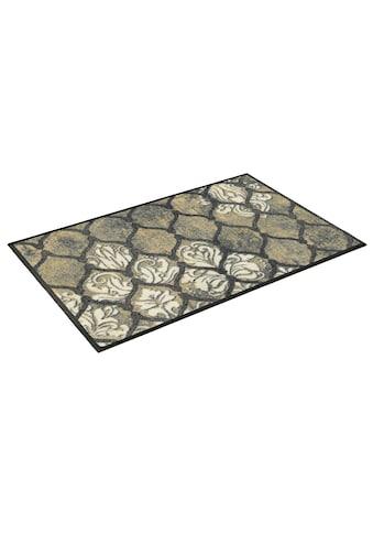 wash+dry by Kleen-Tex Fußmatte »Delano«, rechteckig, 7 mm Höhe, Schmutzfangmatte, In-... kaufen
